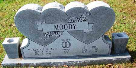 "MOODY, T L ""JOE"" - Cleburne County, Arkansas 