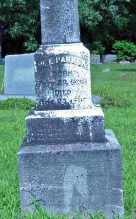 PARKER, W. T. - Cleburne County, Arkansas | W. T. PARKER - Arkansas Gravestone Photos