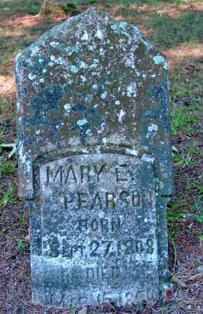 PEARSON, MARY E. - Cleburne County, Arkansas | MARY E. PEARSON - Arkansas Gravestone Photos
