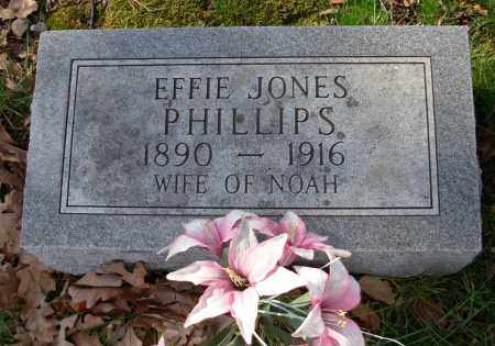 PHILLIPS, EFFIE - Cleburne County, Arkansas | EFFIE PHILLIPS - Arkansas Gravestone Photos