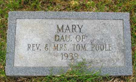 POOLE, MARY - Cleburne County, Arkansas | MARY POOLE - Arkansas Gravestone Photos