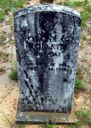 ROBERTS (VETERAN WWI), OSCAR C. - Cleburne County, Arkansas | OSCAR C. ROBERTS (VETERAN WWI) - Arkansas Gravestone Photos