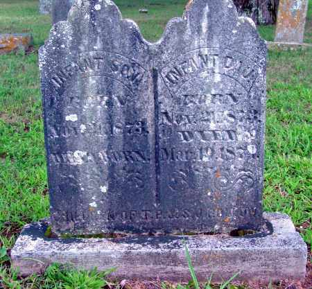 ROLLOW, INFANT DAU. - Cleburne County, Arkansas | INFANT DAU. ROLLOW - Arkansas Gravestone Photos