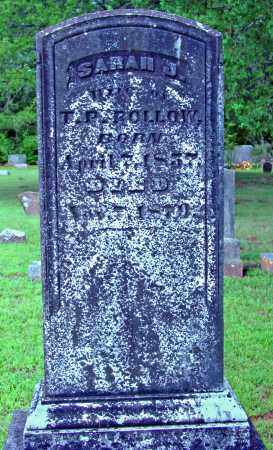 ROLLOW, SARAH J. - Cleburne County, Arkansas | SARAH J. ROLLOW - Arkansas Gravestone Photos