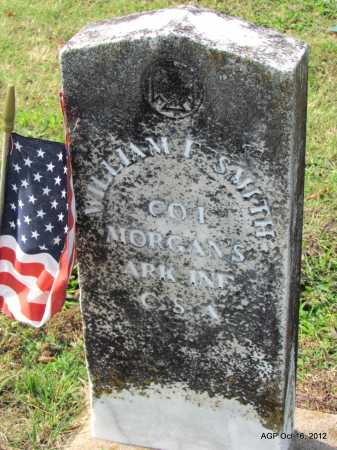SMITH (VETERAN CSA), WILLIAM F - Cleburne County, Arkansas | WILLIAM F SMITH (VETERAN CSA) - Arkansas Gravestone Photos