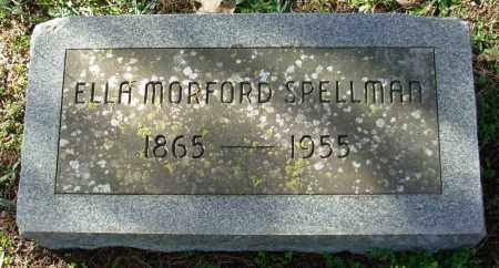 SPELLMAN, ELLA - Cleburne County, Arkansas | ELLA SPELLMAN - Arkansas Gravestone Photos