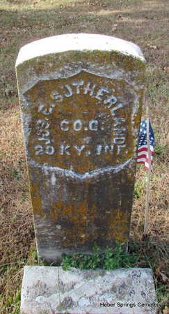 SUTHERLAND (VETERAN UNION), JOSEPH E - Cleburne County, Arkansas | JOSEPH E SUTHERLAND (VETERAN UNION) - Arkansas Gravestone Photos