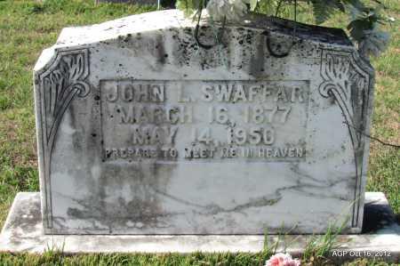 SWAFFAR, JOHN L - Cleburne County, Arkansas | JOHN L SWAFFAR - Arkansas Gravestone Photos