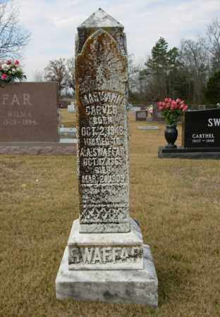 CARVER SWAFFAR, MARY ANN - Cleburne County, Arkansas | MARY ANN CARVER SWAFFAR - Arkansas Gravestone Photos