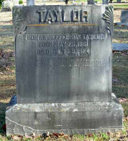TAYLOR, THOMAS JEFFERSON - Cleburne County, Arkansas | THOMAS JEFFERSON TAYLOR - Arkansas Gravestone Photos