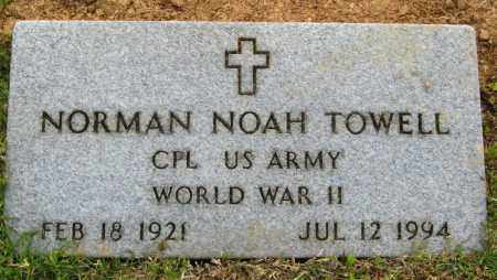 TOWELL (VETERAN WWII), NORMAN NOAH - Cleburne County, Arkansas | NORMAN NOAH TOWELL (VETERAN WWII) - Arkansas Gravestone Photos