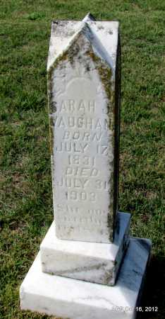VAUGHAN, SARAH J - Cleburne County, Arkansas | SARAH J VAUGHAN - Arkansas Gravestone Photos