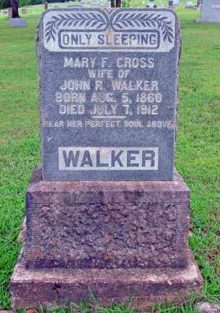 CROSS WALKER, MARY F. - Cleburne County, Arkansas | MARY F. CROSS WALKER - Arkansas Gravestone Photos