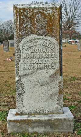 WARD, WM. G. - Cleburne County, Arkansas | WM. G. WARD - Arkansas Gravestone Photos