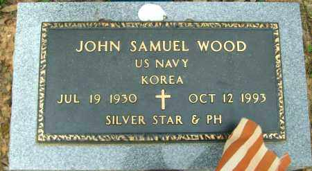 WOOD (VETERAN KOR), JOHN SAMUEL - Cleburne County, Arkansas | JOHN SAMUEL WOOD (VETERAN KOR) - Arkansas Gravestone Photos