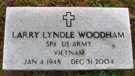 WOODHAM (VETERAN VIET), LARRY LYNDLE - Cleburne County, Arkansas | LARRY LYNDLE WOODHAM (VETERAN VIET) - Arkansas Gravestone Photos